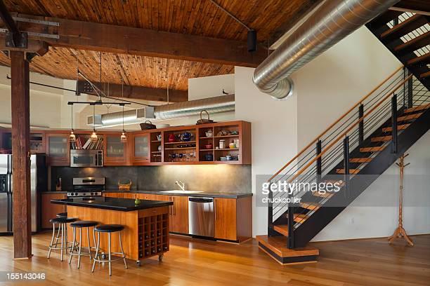 Luxus-Küche in der modernen Home