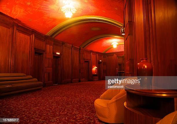 Hall de l'hôtel de luxe