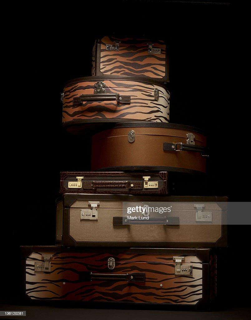 Luxury Luggage Stack