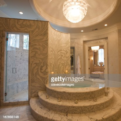 Luxury Marble Bathrooms luxury marble bathroom stock photo | getty images