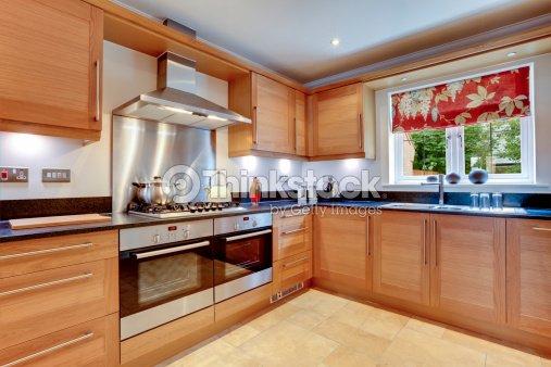 Luxury modern kitchen stock photo thinkstock - Cuadros para cocinas modernas ...