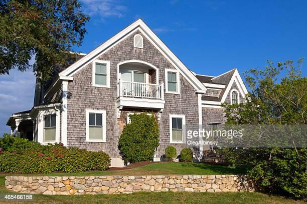Luxury New England House, Chatham, Cape Cod, Massachusetts, USA.