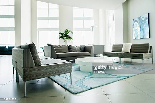 Luxury Penthouse Condominium Hotel Lobby