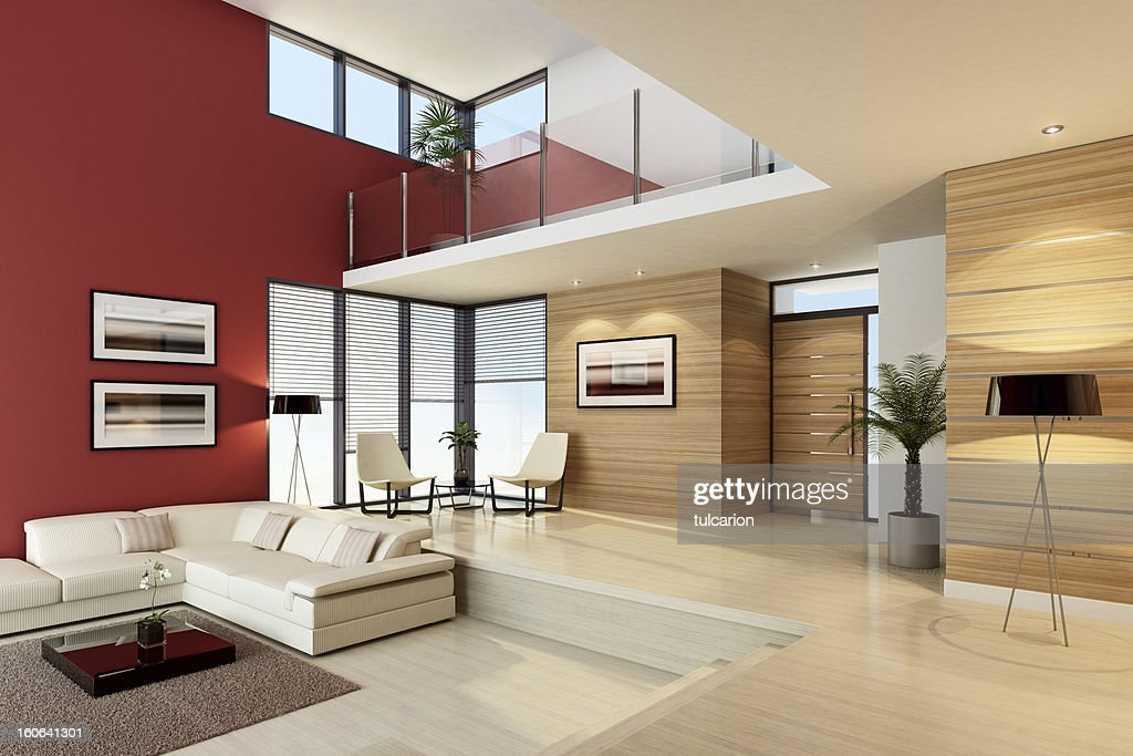 Luxury Penthouse Interior : Stock Photo