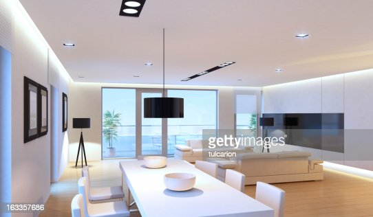 Luxurious Penthouse Dramatic Interior Designer Furniture No People Stock Photos And Pictures Getty Images