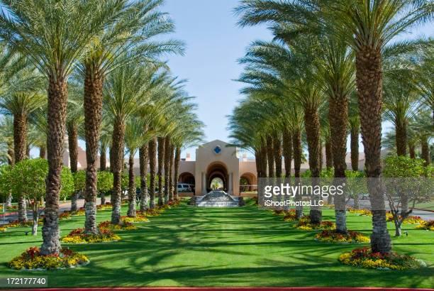 Luxury Resort Hotel Entrance