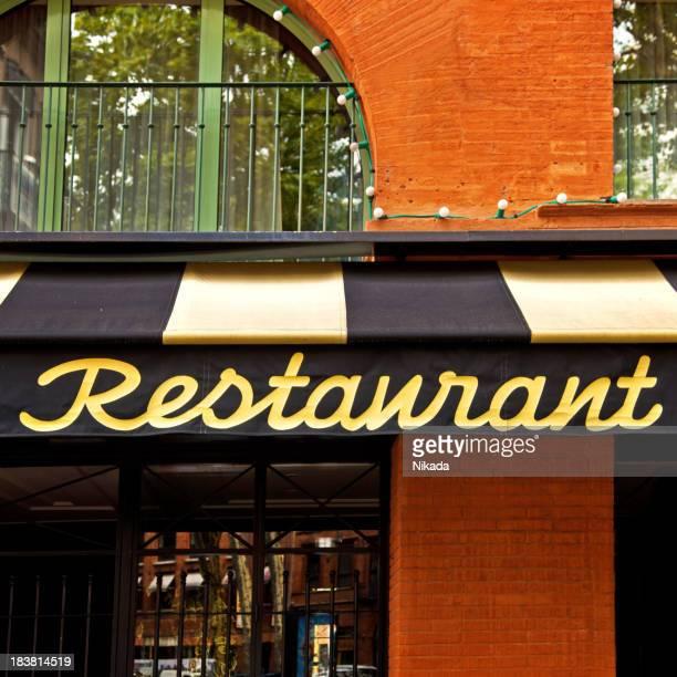 restaurant de luxe