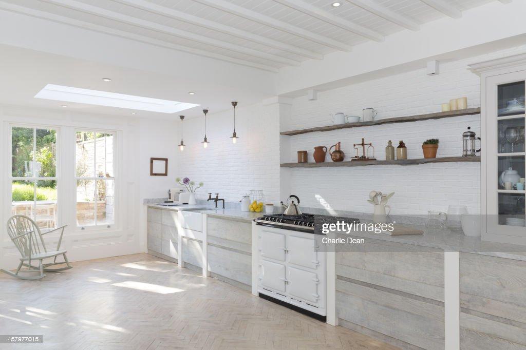 Luxury rustic kitchen