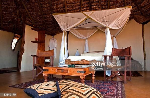 Luxury safari bedroom