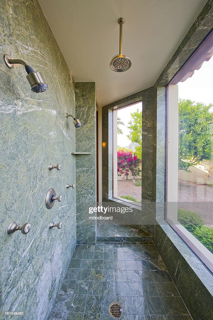 Luxury shower : Stock Photo