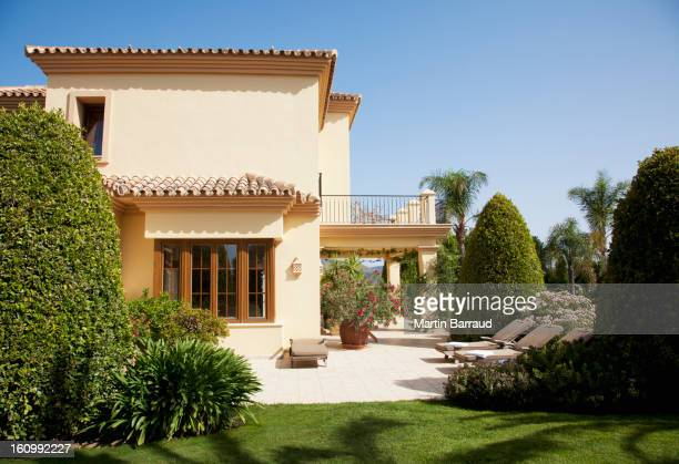 Luxury Spanish villa and patio