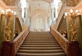 'stairway. An interior of opera theatre. Odessa, Ukraine'