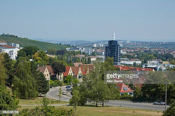 Luxury suburban housing in Stuttgart