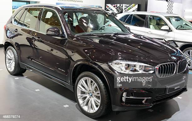 Luxus-Geländewagen BMW X5 Vorderseite