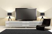 Luxury TV Room