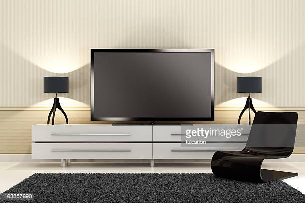 Luxury TV Room