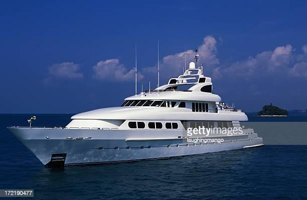 Luxus motor yacht