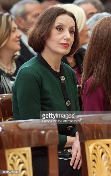 Luz Casal attends 'National Culture Awards' 2015 on February 16 2015 in Madrid Spain