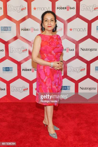 Luz Towns Miranda attends People En Espanol's 25 Most Powerful Women Luncheon 2017 at Hyatt Regency on March 24 2017 in Coral Gables Florida