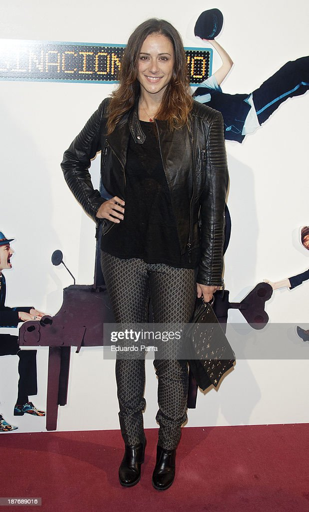 Luz Valdenebro attends Alex O'Dogherty new album presentation party photocall at La Latina theatre on November 11, 2013 in Madrid, Spain.