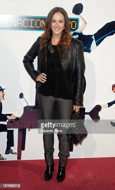 Luz Valdenebro attends Alex O'Dogherty new album presentation party photocall at La Latina theatre on November 11 2013 in Madrid Spain
