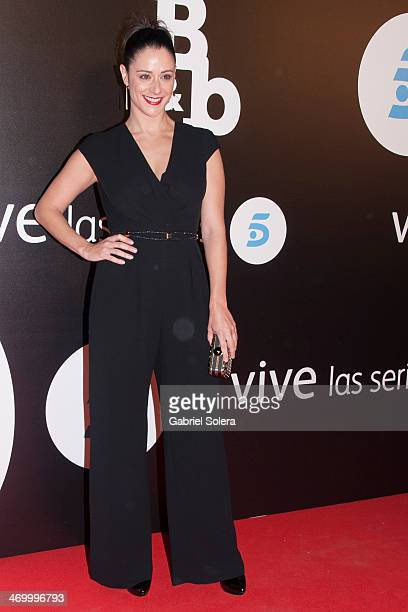 Luz Valdenebro attends the 'BB' Madrid Premiere at Cinema Capitol on February 17 2014 in Madrid Spain