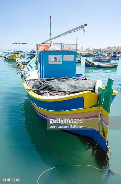 Luzzu in Marsaxlokk Harbour