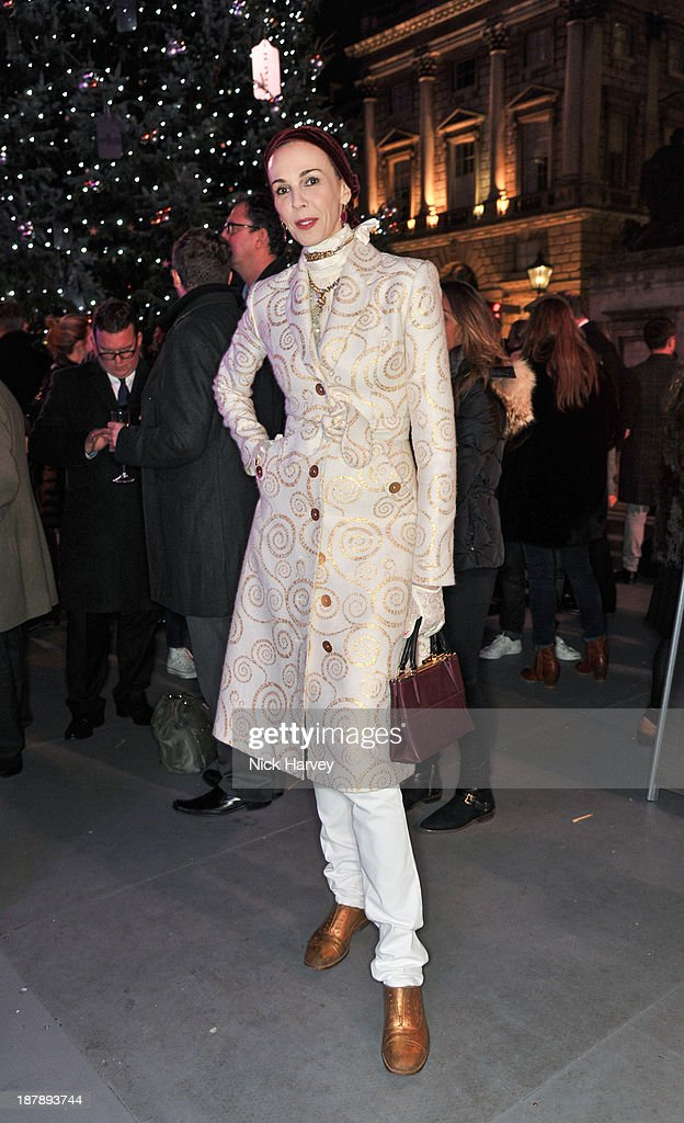 l'Wren Scott attends the launch of Skate at Somerset House on November 13, 2013 in London, England.