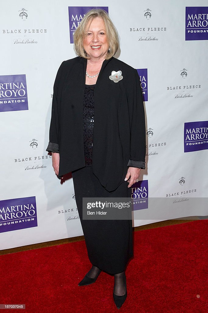Lya Friedrich Pfeifer attends Martina Arroyo Annual Foundation Gala at 583 Park Avenue on November 27, 2012 in New York City.