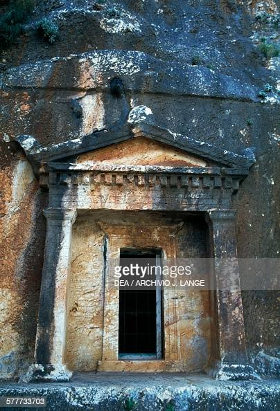 Lycian Rock Tomb Stock Photos and Pictures  Getty Images