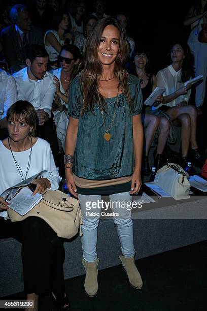 Lydia Bosch attends Mercedes Benz Fashion Week Madrid at Ifema on September 12 2014 in Madrid Spain