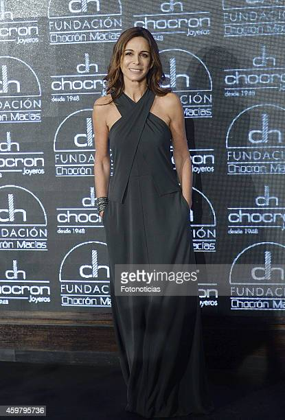 Lydia Bosch attends the Chocron Jewelry Charity Catalogue Presentation at Platea Madrid on December 1 2014 in Madrid Spain