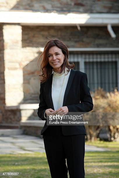 Lydia Bosch attends the presentation of 'Sin Identidad' Antena 3 Tv serie on March 11 2014 in Madrid Spain