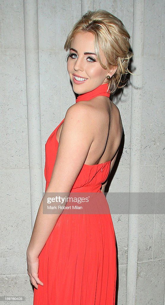 Lydia Bright at STK London restaurant 25 images on January 19, 2013 in London, England.