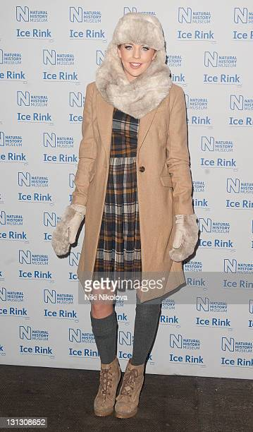 Lydia Bright attend the launch of the Natural History Museum at Natural History Museum on November 3 2011 in London England