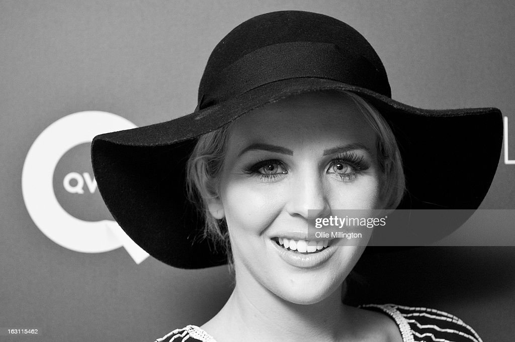 Lydia Bright attends as Giles Deacon launches his Libertine collection for QVC at The Club at The Ivy on March 4, 2013 in London, England.