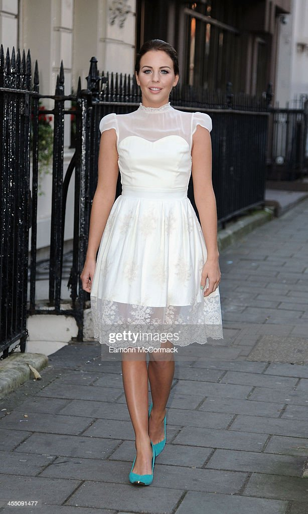 Lydia Bright attends her S/S 2014 Clothing range Press Breakfast on December 11, 2013 in London, England.