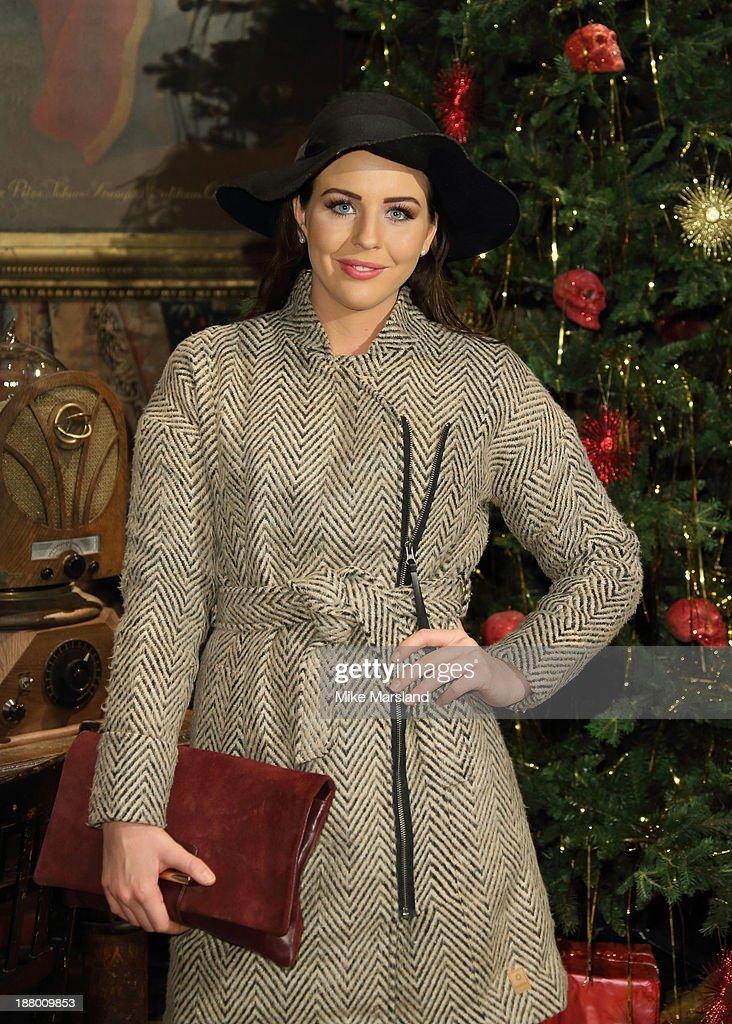 Lydia Bright attends Hogwarts In The Snow VIP Preview at Warner Bros Studios on November 14, 2013 in London, England.