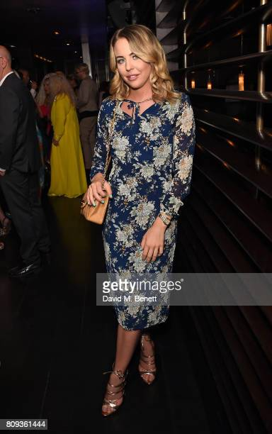 Lydia Bright attends Paul Strank Charitable Trust's Summer Party at Mint Leaf on July 5 2017 in London England