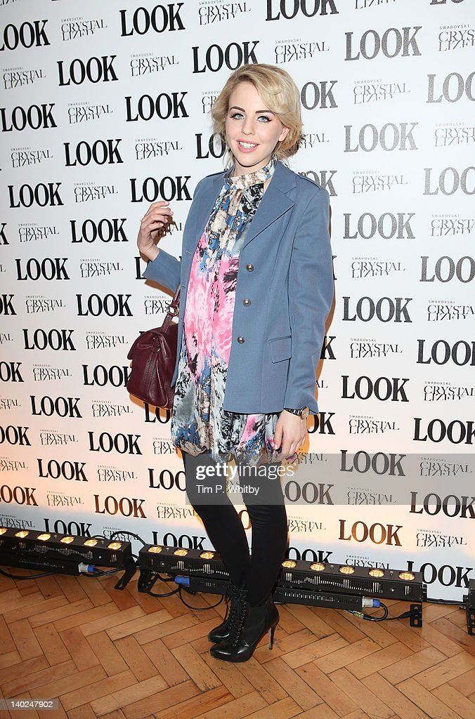 Lydia Bright attends the 5th anniversary party of LOOK magazine at One Marylebone on March 1, 2012 in London, England.