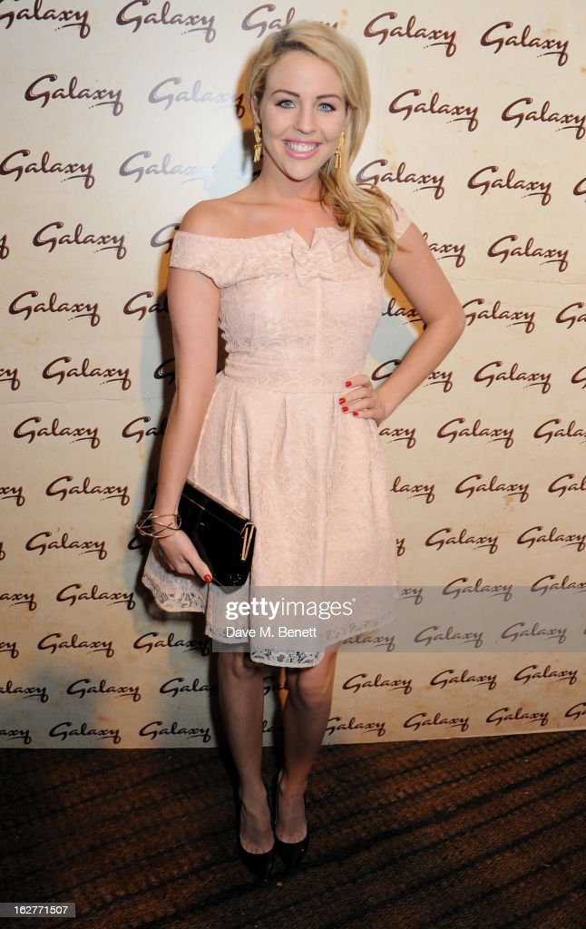Lydia Bright attends the Galaxy Pop Up Drive-In Cinema at the Doon Street Car Park on February 26, 2013 in London, England.