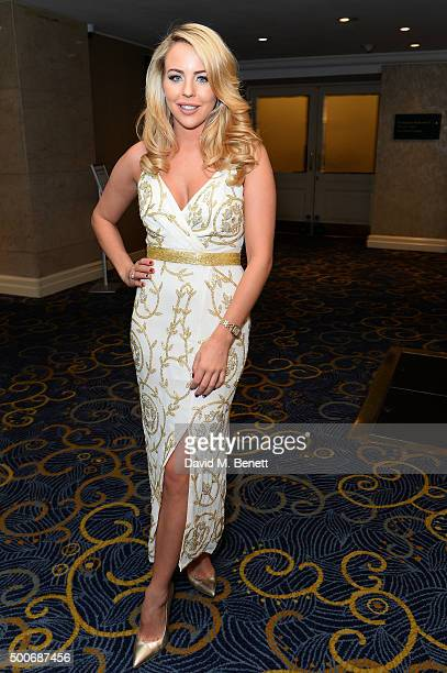 Lydia Bright attends the Guide Dogs Annual Awards 2015 at the Hilton Park Lane on December 9 2015 in London England