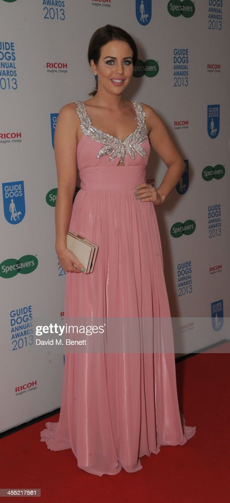 Lydia Bright attends the Guide Dogs UK Annual Awards 2013 at the London Hilton on December 11, 2013 in London, England.