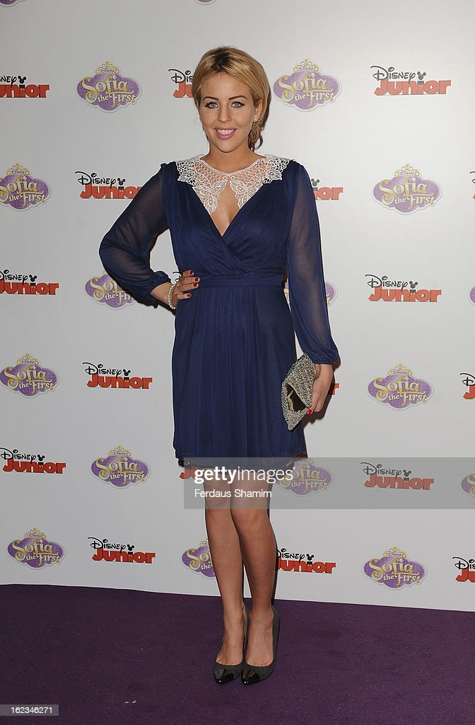 Lydia Bright attends the launch screening of Sofia the First at May Fair Hotel on February 22, 2013 in London, England.