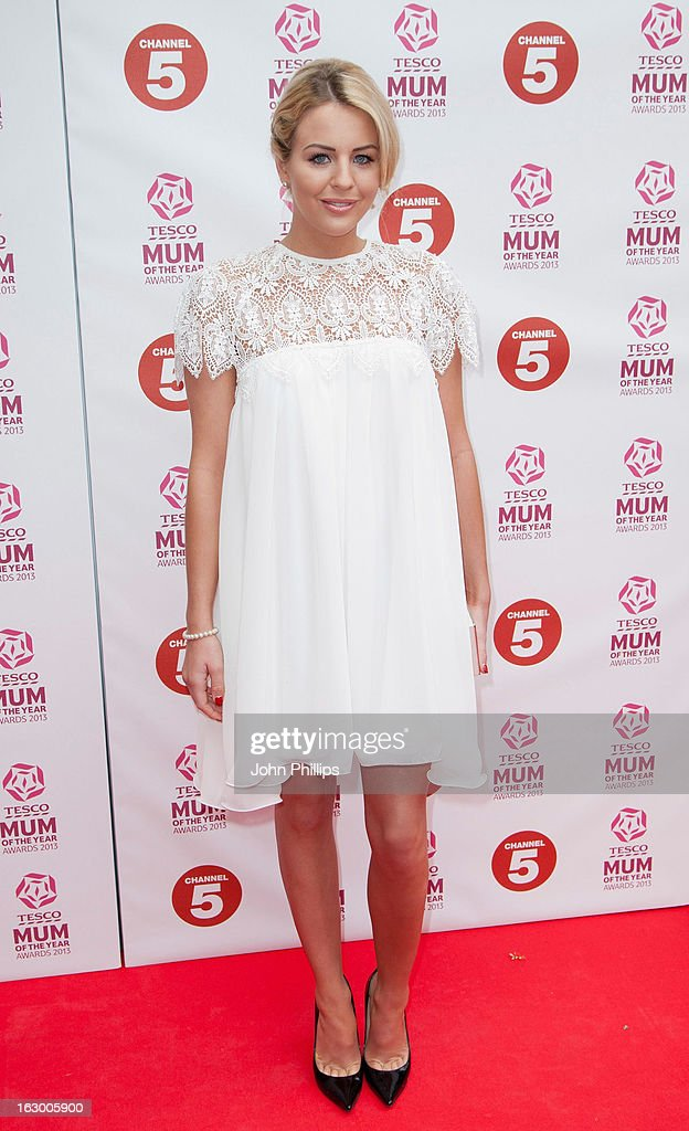 Lydia Bright attends the Tesco Mum of the Year awards at The Savoy Hotel on March 3, 2013 in London, England.