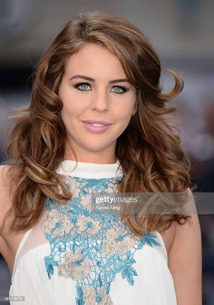 Lydia Bright attends the UK premiere of 'Noah' held at the Odeon Leicester Square on March 31, 2014 in London, England.