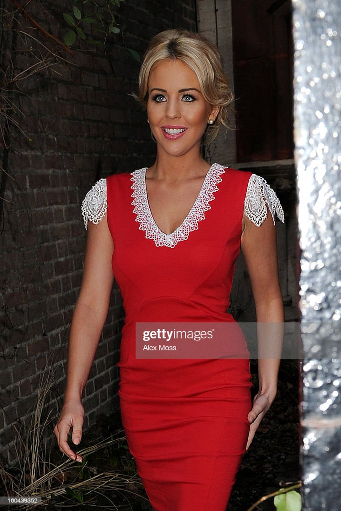 Lydia Bright seen in Soho on January 31, 2013 in London, England.