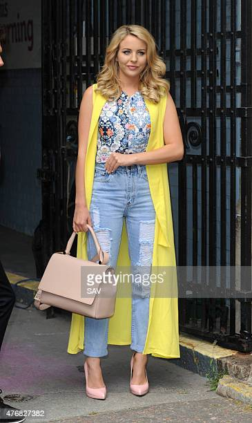 Lydia Bright sighting at The ITV Studios on June 12 2015 in London England