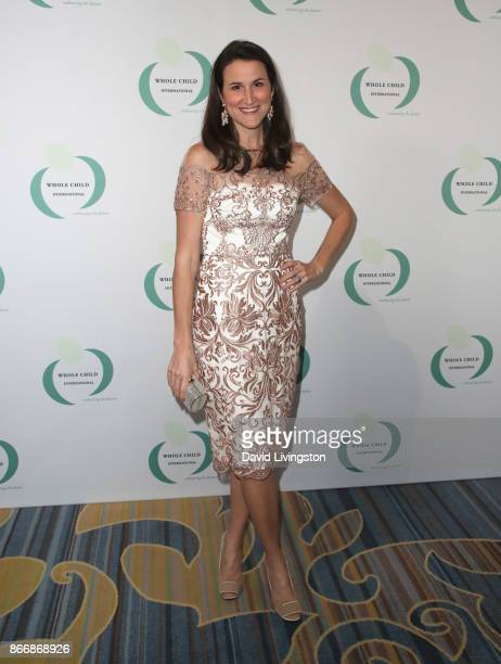 Lydia Fenet at the Whole Child International's Inaugural Gala in Los Angeles hosted by The Earl and Countess Spencer at Regent Beverly Wilshire Hotel...