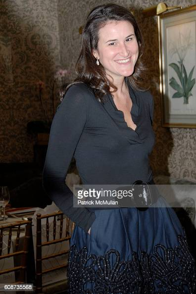 Lydia Fenet attends MARIA HATZISTEFANIS presents GLAMOTOX at a glamorous upper east side luncheon at The Carlyle on December 3 2007 in New York City